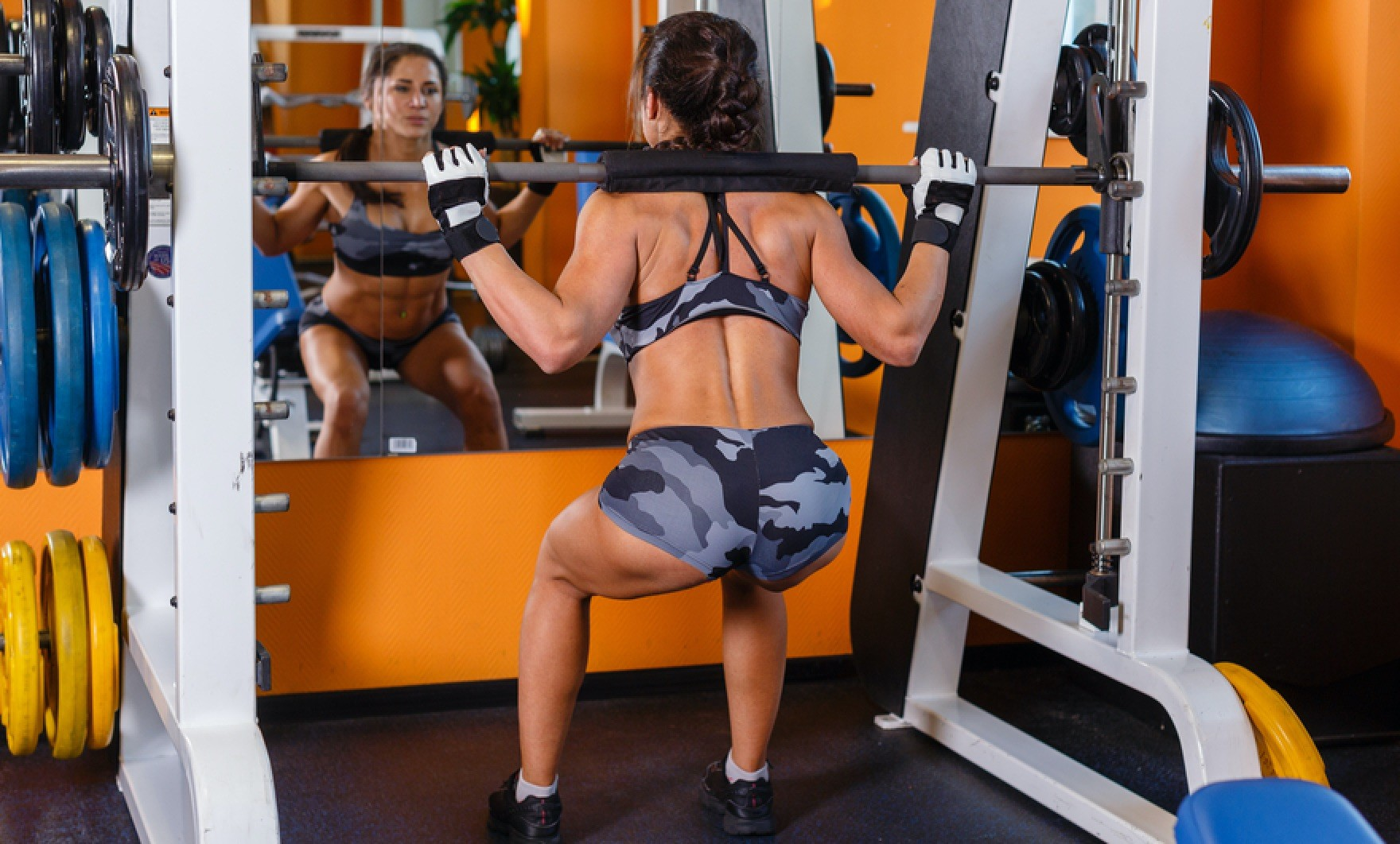 Lack of Heavy Weights When Training From Home